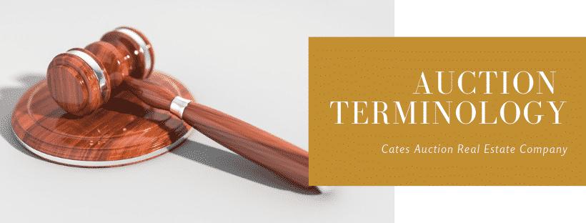 Auction Terminology