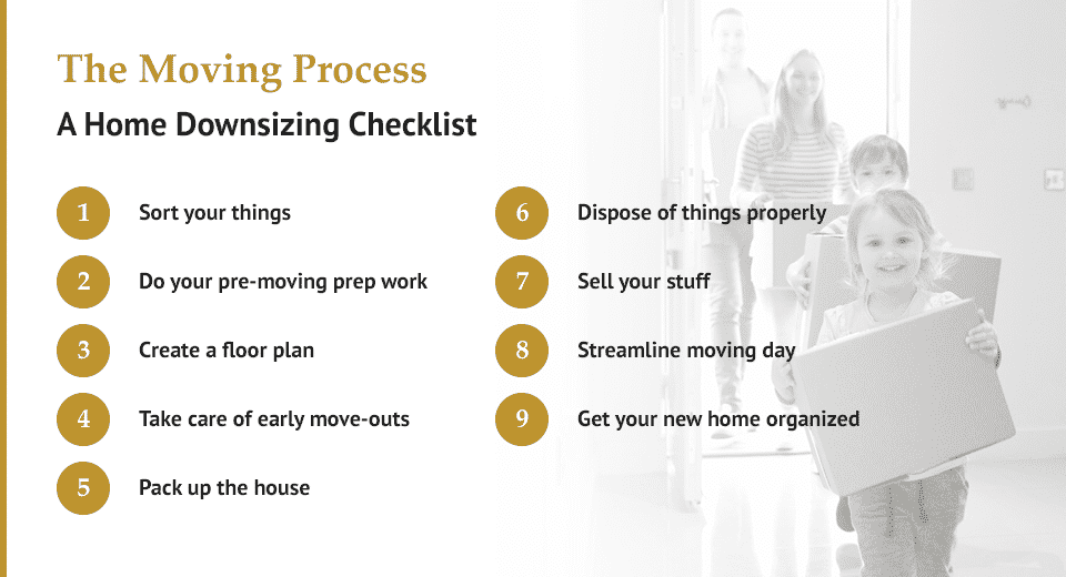 The Moving Process For Downsizing Your Home